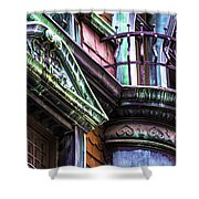 Victorian On Rush V2 Shower Curtain