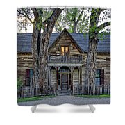 Victorian Sedman House In Montana State Shower Curtain