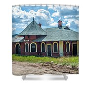 Midland Terminal Depot Shower Curtain