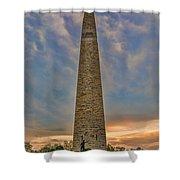 Victory - Bennington Battle Monument Shower Curtain