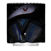 Victory Eagle 1485 H_2 Shower Curtain
