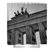 Victory Of Brandenburg Gate Shower Curtain