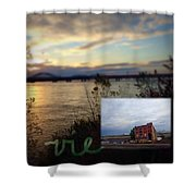 Vie Shower Curtain