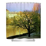 Vienna 1 Shower Curtain