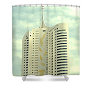 Vienna Architecture Shower Curtain