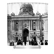Vienna Austria - Imperial Palace - C 1902 Shower Curtain