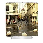 Vienna Corner After The Rain Shower Curtain