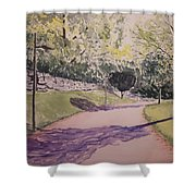 Vienna In Summer Shower Curtain