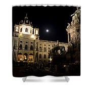 Vienna Natural History Museum Shower Curtain