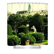 Vienna Park Shower Curtain