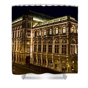 Vienna State Opera Shower Curtain