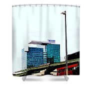 Vienna Volksbank Shower Curtain