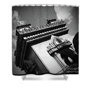 Vientiane Arch Shower Curtain
