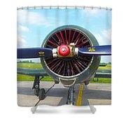 Vietnam Plane Shower Curtain