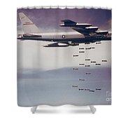 Vietnam War, B-52 Stratofortress Shower Curtain
