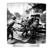 Vietnam War Shower Curtain