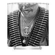 Vietnam War: Soldier, 1970 Shower Curtain by Granger
