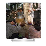Vietnamese Street Food Shower Curtain