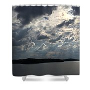 View Across Wappapello Lake II Shower Curtain