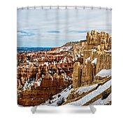 View Along The Ridge Shower Curtain