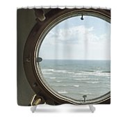 View At Sea II Shower Curtain