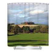 View At The Dalmahoy Shower Curtain