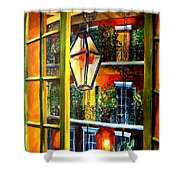 View From A French Quarter Balcony Shower Curtain by Diane Millsap