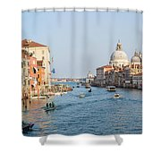 View From Accademia Bridge Shower Curtain