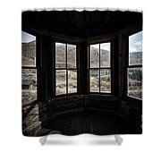 View From Animas Forks Shower Curtain