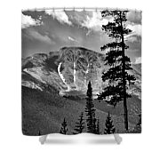 View From Atop Winter Park Mountain 2 Shower Curtain