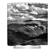 View From Atop Winter Park Mountain 3 Shower Curtain