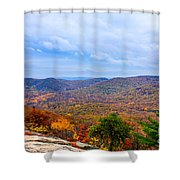 View From Bear Mountain Shower Curtain