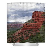 View From Doe Mountain Trail Shower Curtain