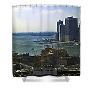 View From Dumbo Shower Curtain