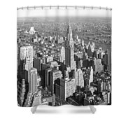View From Empire State Bldg. Shower Curtain