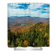 View From Goodnow Shower Curtain