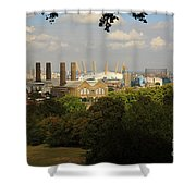 View From Greenwich Park Shower Curtain