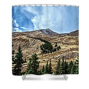 View From Guanella Pass Road Shower Curtain
