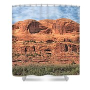 View From Highway 128, Utah Shower Curtain