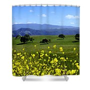View From Highway 154 Shower Curtain
