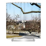 View From John F Kennedys Grave Shower Curtain