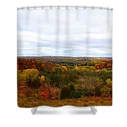 View From Kidder Road Shower Curtain