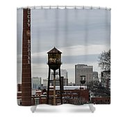 View From Libby Hill Shower Curtain