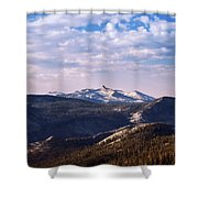 View From May Lake Shower Curtain