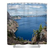 View From Merriam Point Shower Curtain