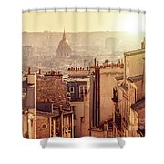 View From Montmartre Shower Curtain