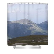 View From Mount Washington Shower Curtain