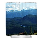View From Mt. Wahington II Shower Curtain