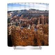 View From Rim Trail Shower Curtain