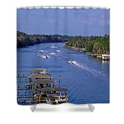 View From The Bridge Of Lions Shower Curtain
